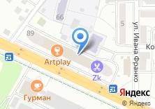 Компания «ПРИНТЕКС» на карте