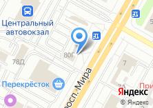 Компания «Блинчик» на карте