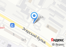 Компания «Шиномонтажная мастерская на Эгерском бульваре» на карте
