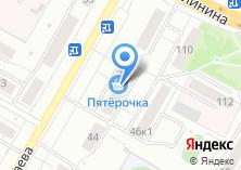 Компания «Магазин одежды на ул. Космонавта Николаева» на карте