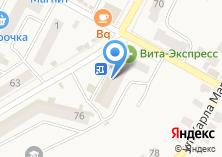 Компания «Ваш уют» на карте