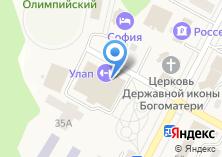 Компания «Sunline» на карте