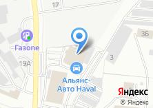 Компания «Альянс-Моторс» на карте
