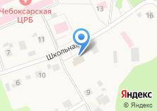 Компания «Сеспель» на карте