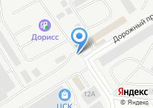 Компания «Дорисс-отделстрой» на карте