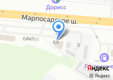 Компания «AUTO`MODA» на карте