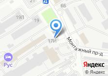 Компания «ПожСнаб21» на карте