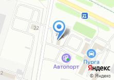 Компания «АВТОСТЕКЛА  - Автомастерская» на карте