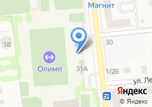 Компания «Олимп» на карте