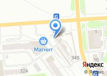 Компания «Тепличное» на карте