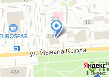 Компания «ТелеМир» на карте