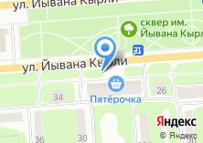 Компания «Мобильные ТелеСистемы» на карте