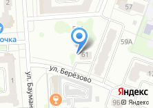 Компания «СтройИнвест» на карте