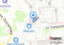 Компания «М-ТЭК» на карте