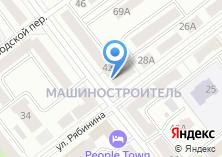 Компания «Мясокомбинат Звениговский» на карте