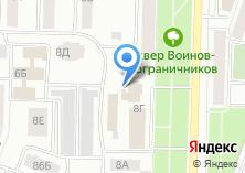 Компания «БИНБАНК» на карте