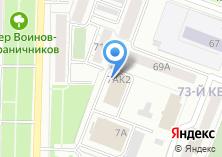 Компания «Единоборец12» на карте