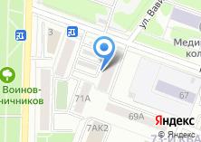 Компания «Электромир» на карте
