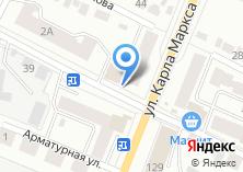 Компания «Броксталь» на карте