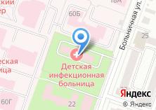 Компания «Йошкар-Олинская детская городская больница» на карте