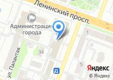 Компания «Работа» на карте