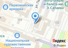 Компания «Национальный банк Республики Марий Эл Центрального банка РФ» на карте