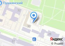 Компания «Магазин книг и товаров для творчества на Пушкина» на карте