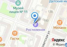 Компания «Центр продаж и обслуживания абонентов» на карте