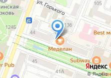 Компания «Меделан» на карте
