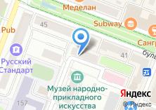 Компания «ЯХУ» на карте