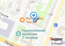 Компания «Бисмарк» на карте