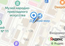 Компания «Мебель City» на карте