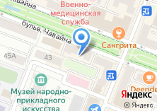 Компания «Марракеш» на карте