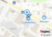 Компания «Салон мебели» на карте