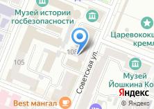 Компания «Магазин подарков на Советской» на карте