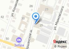 Компания «Авторемонт-ГАЗ» на карте