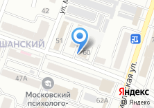 Компания «Новая» на карте