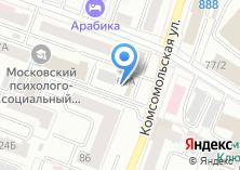 Компания «Техно-прайд» на карте