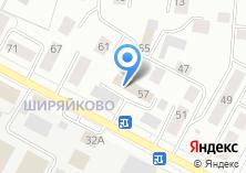 Компания «Марийская служба аварийно-спасательных и экологических работ» на карте