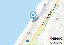 Компания «Строящееся административное здание по ул. Эшкинина» на карте