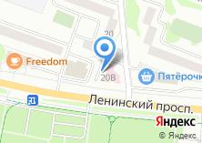 Компания «Клубника» на карте