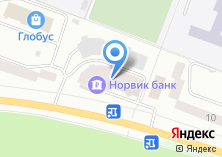 Компания «Окна 12» на карте