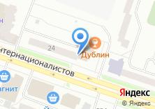 Компания «Аквамарин» на карте