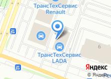 Компания «Chevrolet» на карте