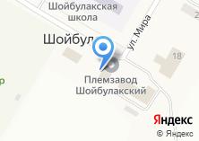 Компания «Шойбулакский» на карте