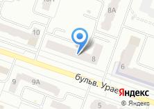 Компания «Строящийся жилой дом по ул. Ураева бульвар» на карте