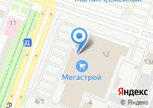 Компания «Мегасад» на карте