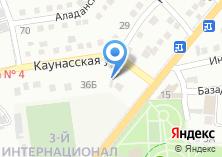 Компания «Токарь+» на карте