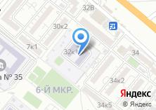 Компания «Детский сад №111 Лучик» на карте