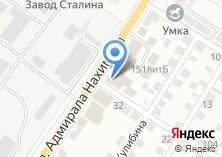 Компания «Строительные материалы» на карте